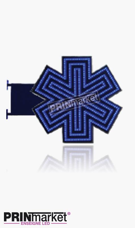 Croix d'Ambulance LED