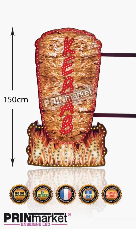 Kebbab Led 150cm