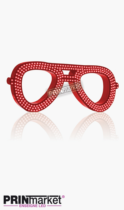 lunette aviator ray ban rouge
