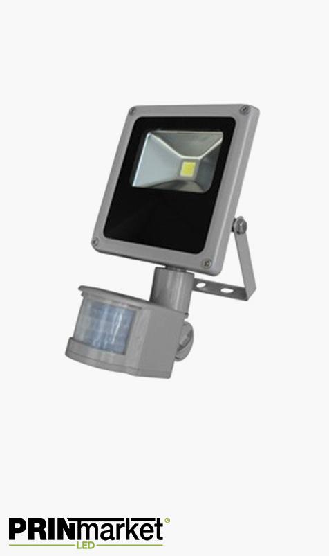Projecteur LED extra-plat 10 watts (équiv. 60w) - Étanche IP66