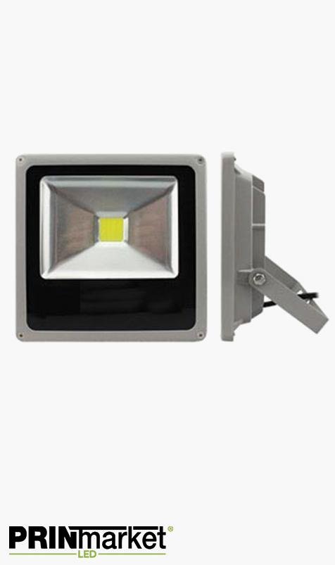 Projecteur LED extra-plat 30 watts (équiv. 150w) - Étanche IP66