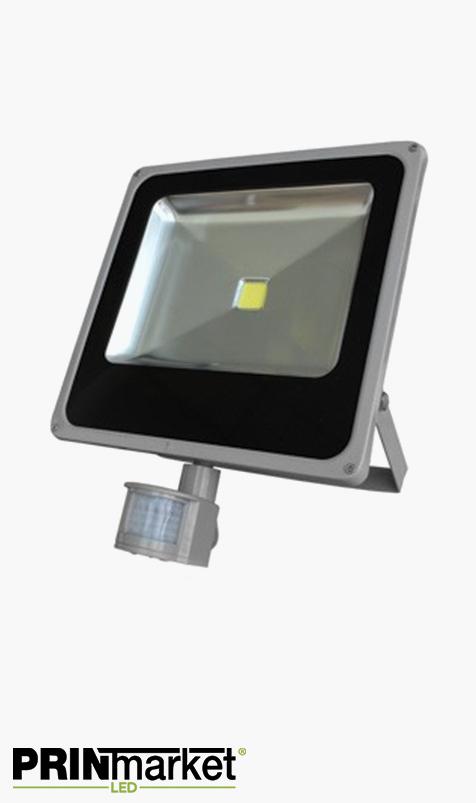 Projecteur LED extra-plat 50 watts (équiv. 250w) - Étanche IP66