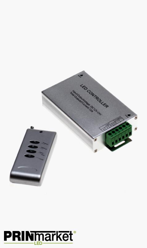 Contrôleur Ruban LED multicouleur RGB - Télécommande