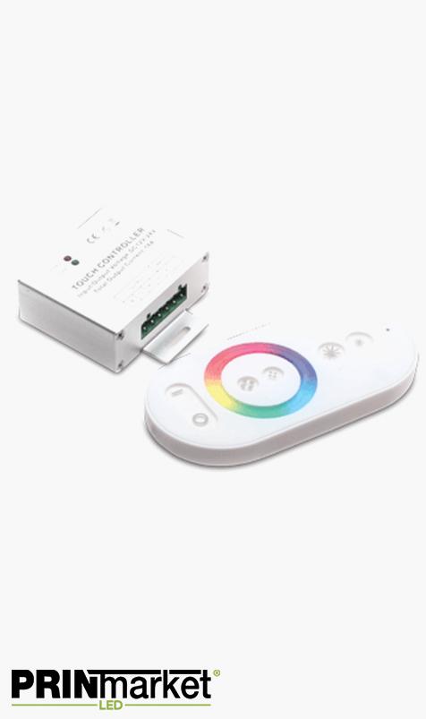 Contrôleur Ruban LED multicouleur RGB - Télécommande infrarouge