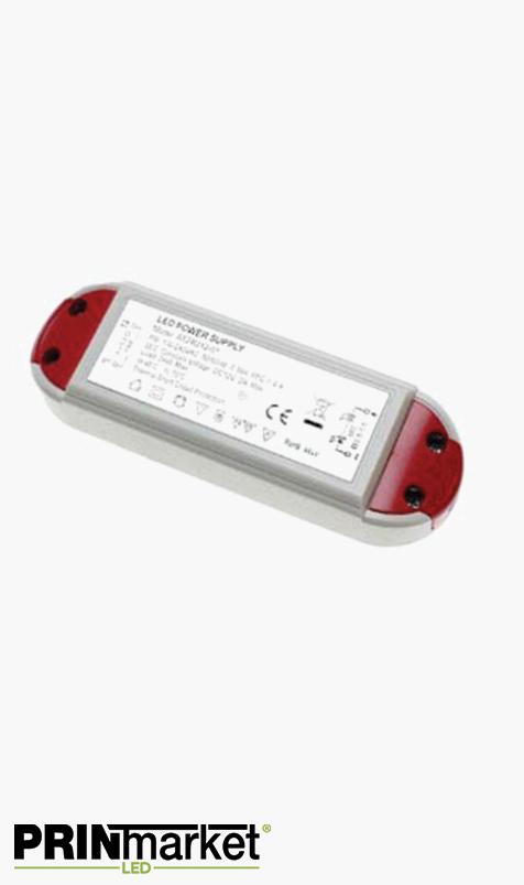 Transformateur LED 12V - 36 watts - Non dimmable - Non étanche