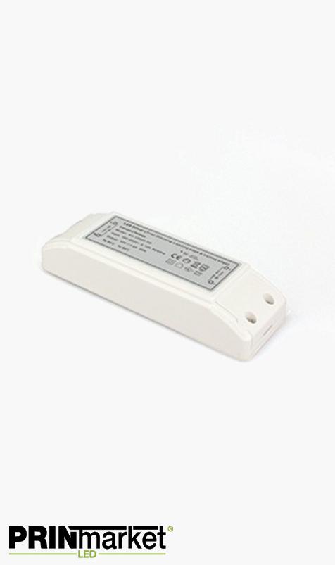 Transformateur LED 12V - 20 watts - Dimmable - Non étanche