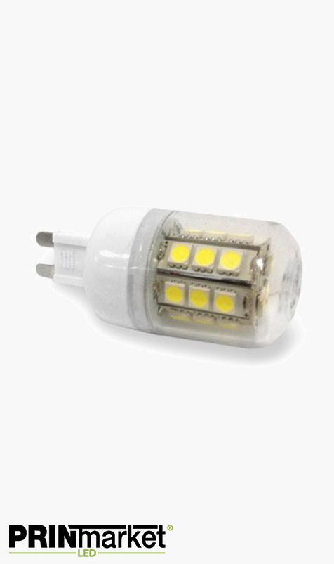 Ampoule LED G9 - 4,5 watts (équiv. 40w) - Diffusion 360°