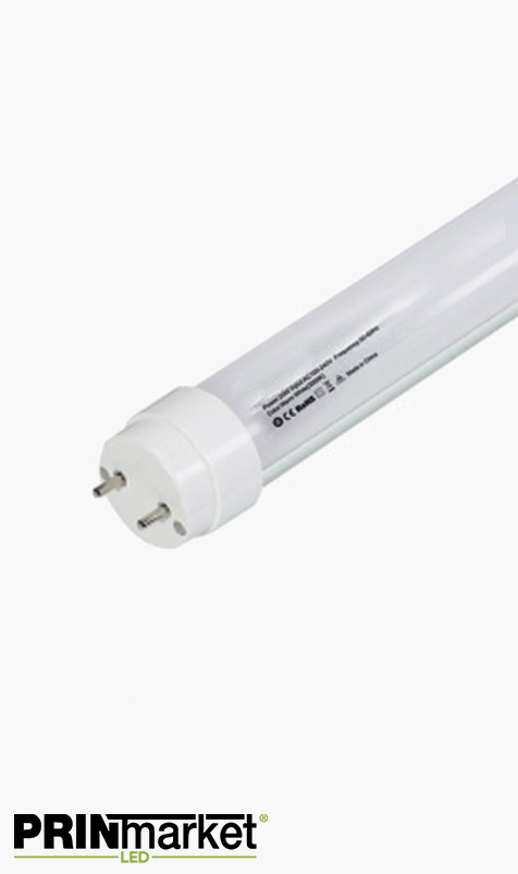 Tube T8 LED - 9 watts - Dépoli - 600 mm