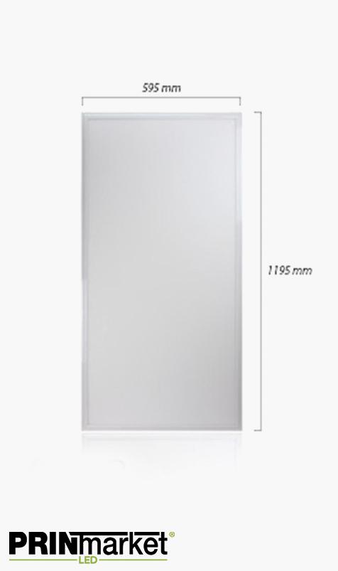 Panneau lumineux LED 60 watts - 1200 x 600 mm