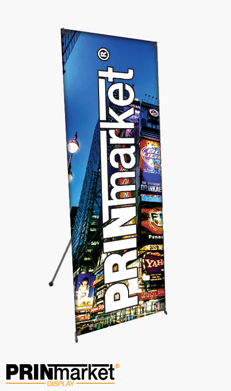 X banner Luxe 60cm X 180 cm