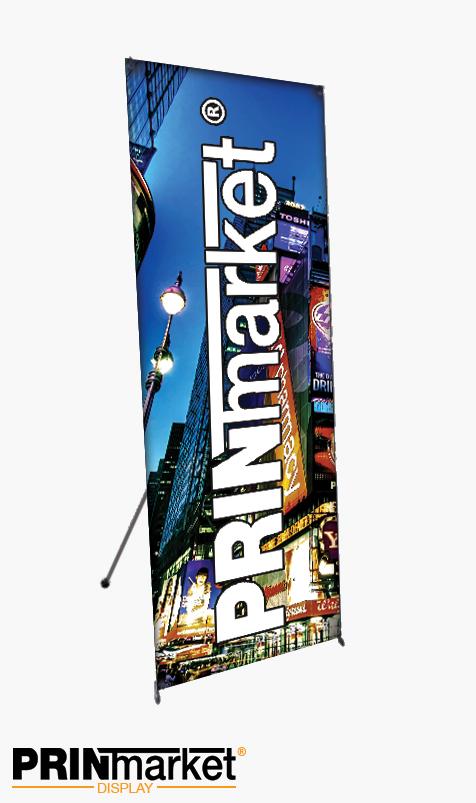 X banner Luxe 140 cm X 250 cm