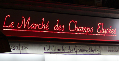 Le Marché des Champs Elysées
