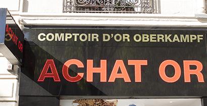 Achat Or Oberkampf